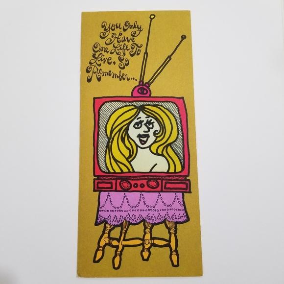 1969 Hi Brows American Greetings Birthday Card